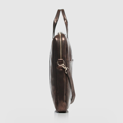 Document Briefcase Metallic Brown en internet