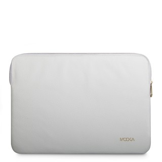 Funda Notebook Cuero Blanco - Macbook Pro 13