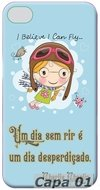 Capa Celular Personalizada Cute Cartoon Baby