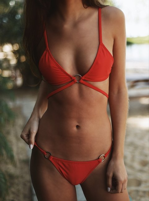 Rock Red - Flora Bikinis