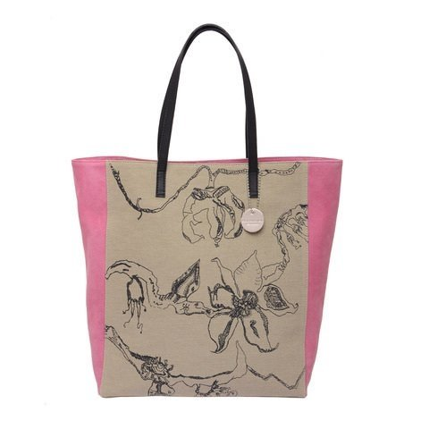 Tote de lona by Lucila  - yellow on internet