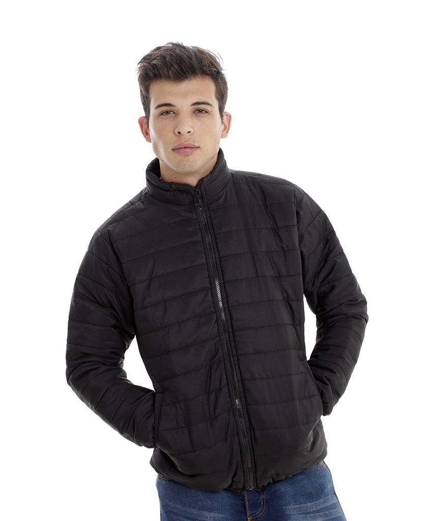 Campera Inflable Negro