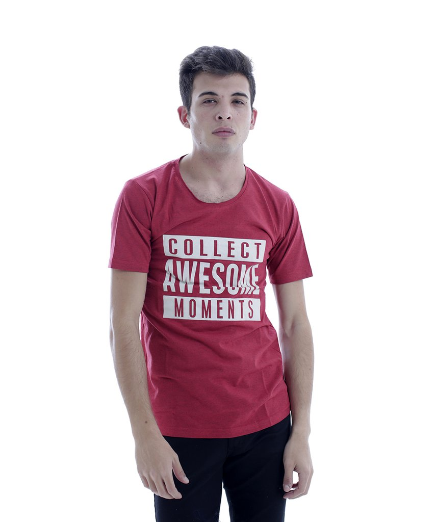 REMERA AWESOME ROJO