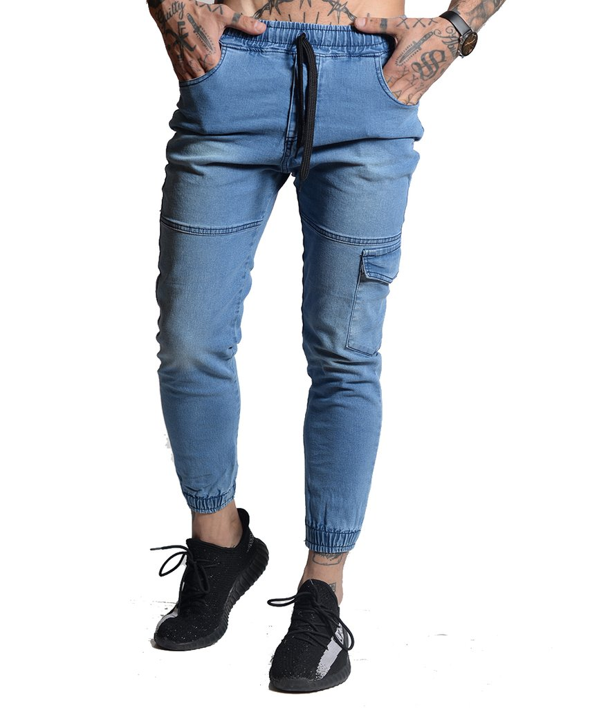 Joggers Jeans Cargo