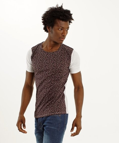 Remera SLIM B  bordo