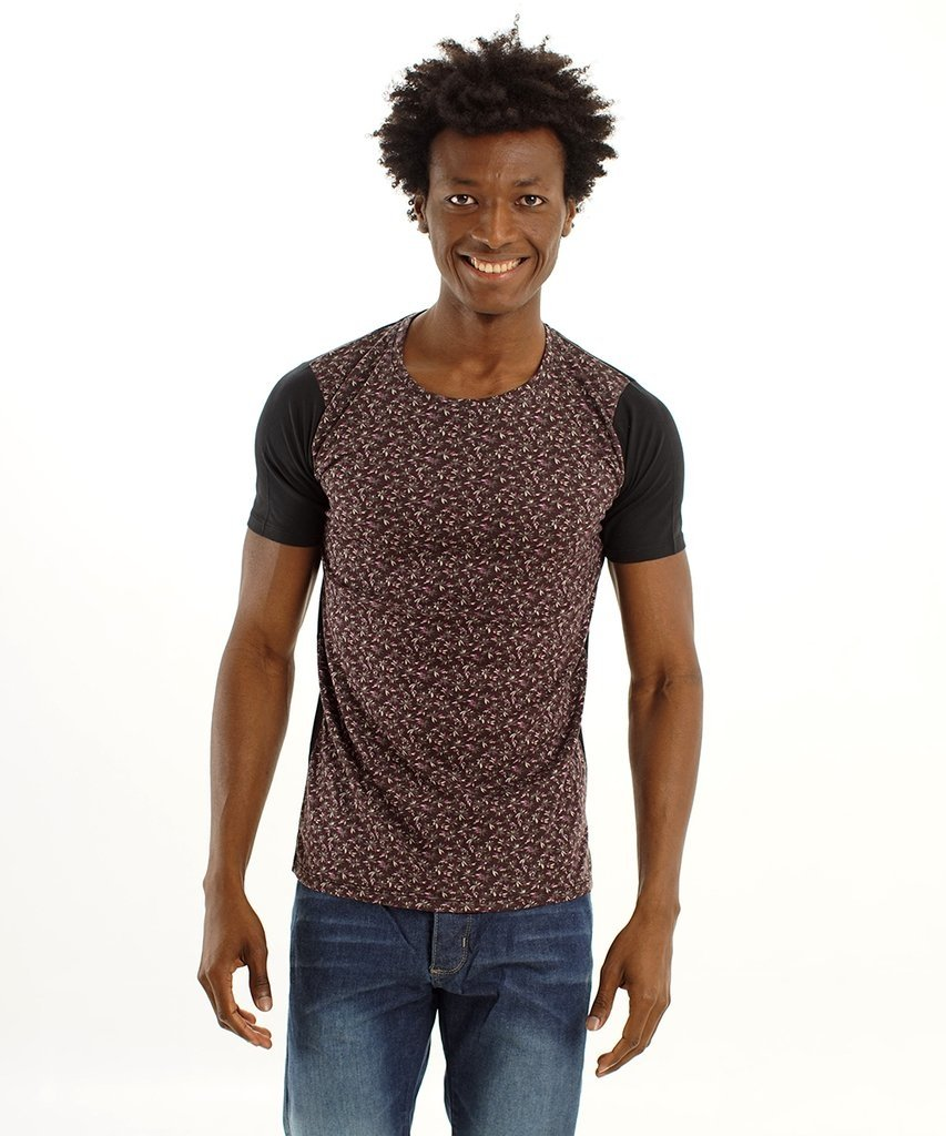 Remera slim Bordo