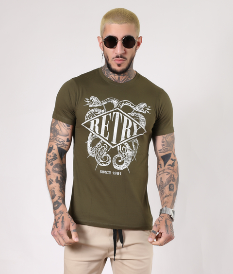 Remeras Retry Verde