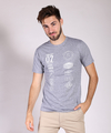 Remera Cars Gris