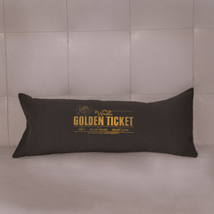 Almohadon Golden Ticket