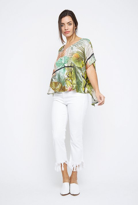 Remera M/C Tropical