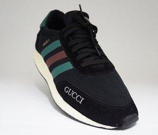 Tênis Adidas Iniki Runner Caramelo e Branco 852a1f8abb5