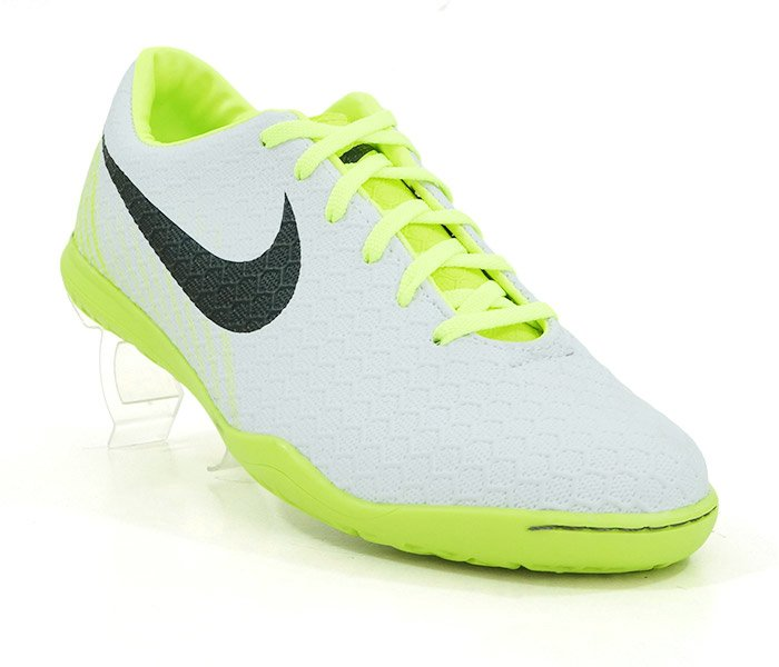 50f2f34182b Chuteira Futsal Nike Magista Branco e Verde