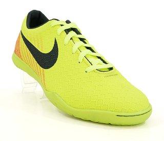573886dc0c Chuteira Futsal Nike Magista Amarelo Limão e Rosa