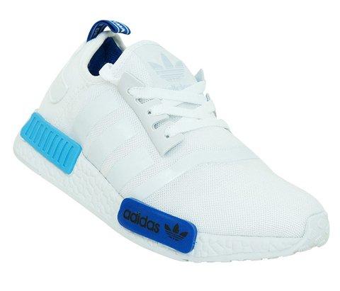 Tênis Adidas NMD Trail Branco e Azul 3220b339fc459