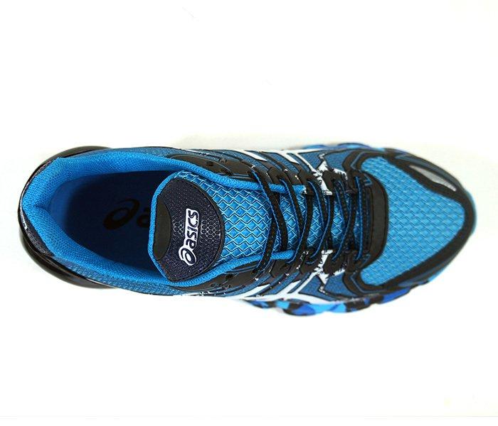 9e13c1d157a ... Tênis Asics Gel Sendai 2 Azul e Preto - Bobarato - Sua loja de  novidades ...