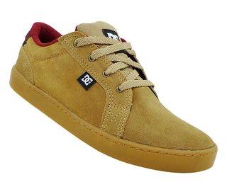 Tênis DC Shoes Council Couro Bordô 213a09ab3d730