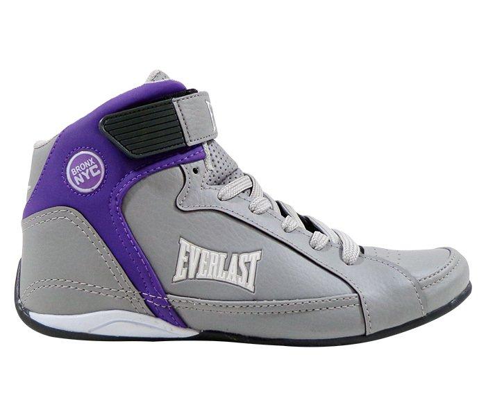 0838ba2346 ... Tênis Everlast Jump Cinza e Roxo - comprar online ...