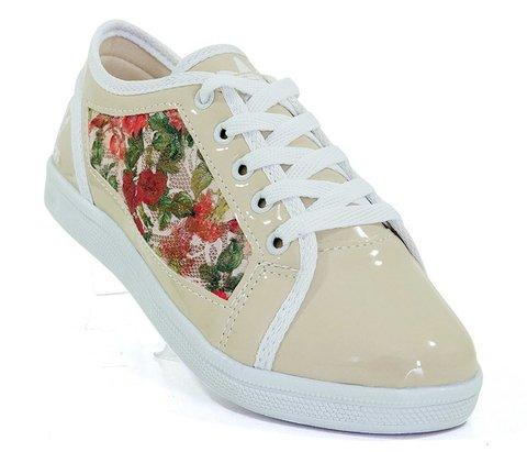 6c6711567d2 Tênis Feminino de Renda Adidas Lace Bege e Floral