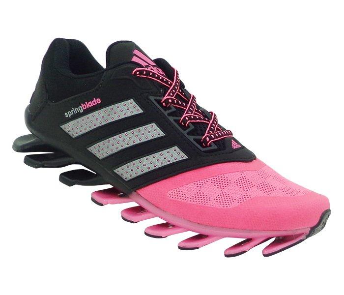 260487243e Tênis Feminino Adidas Springblade Drive 2015 Preto e Rosa