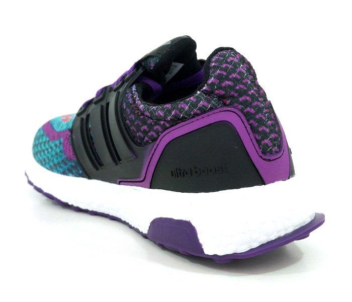 bc21fed4b7 ... comprar online  Tênis Feminino Adidas Ultra Boost M Verde e Roxo na  internet ...