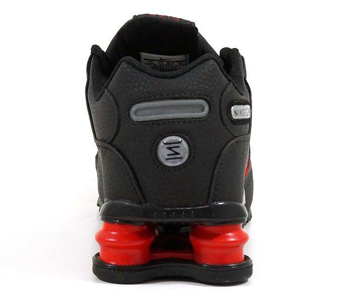 quality design ab4a0 b30e2 ... usa tênis nike shox nz preto e vermelho na internet eab54 b23f9 ...