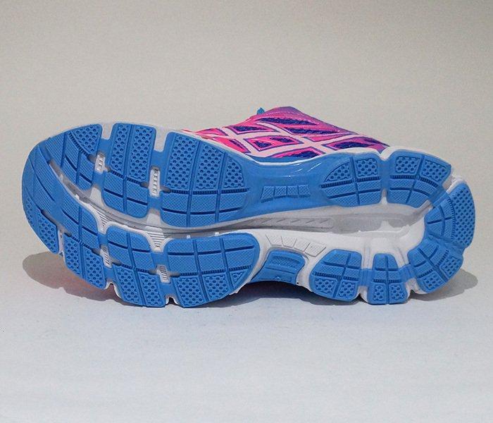 5987c8a97bd ... Tênis Feminino Asics Gel Cumulos 18 Azul e Rosa - loja online