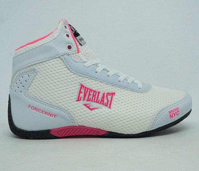 95f291ec16 ... Tênis Feminino Everlast Forceknit Branco e Rosa - comprar online ...