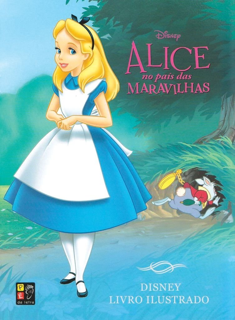 Alice no País das Maravilhas - Livro Ilustrado