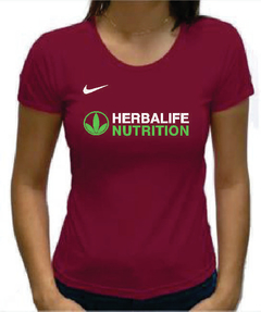 Baby Look Bordô Herbalife Nutrition