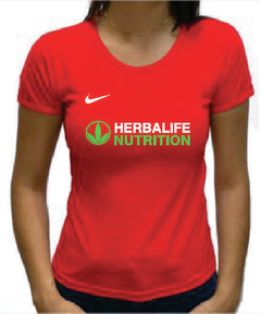 Baby Look Vermelha Herbalife Nutrition