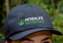 Boné Preto Bordado Herbalife Nutrition