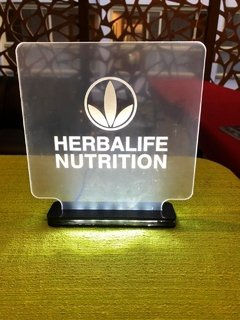 Placa de Led Branca Herbalife Nutrition