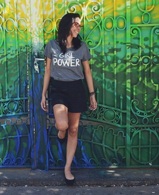 Camiseta Girl Power - Nibbox - Modelo