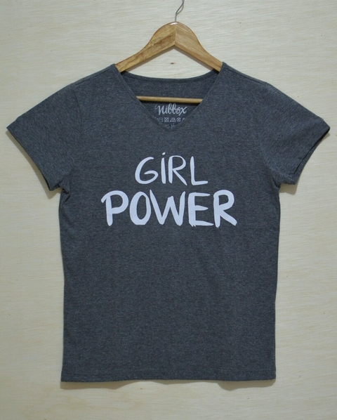 Camiseta Girl Power - Nibbox - vitrine