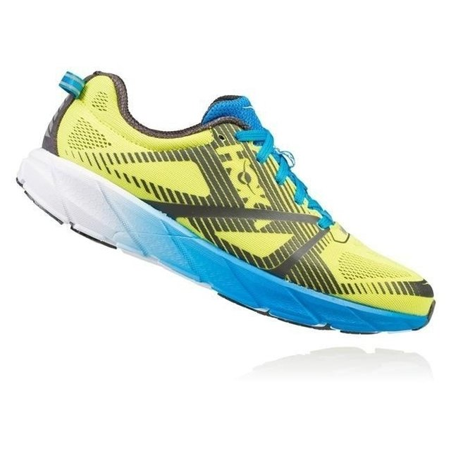 Hoka One One Tracer 2 yellow/blue mens