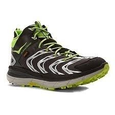 HOKA ONE ONE Tor Speed 2 Mid WP Men's Shoes Black/Green