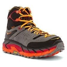 HOKA ONE ONE Tor Ultra Hi WP Men's Shoes Black/Flame