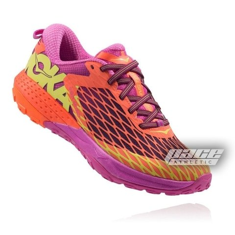 HOKA ONE ONE Speed Instinct Women's Shoes Coral/Plum