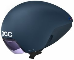 POC Cerebel Raceday Aero Helmet Midnight