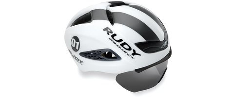 Rudy Project BOOST 01 WITH OPTICAL SHIELD WHITE - GRAPHITE MATTE