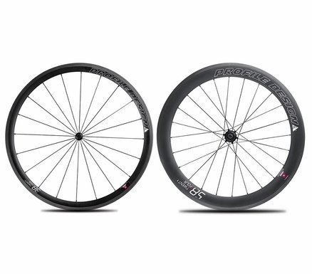 Profile Design 38/58 TwentyFour Series Carbon Clincher Wheelset