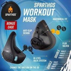 Sparthos Workout Mask - High Altitude Elevation - ASPORTS - Since 1993!