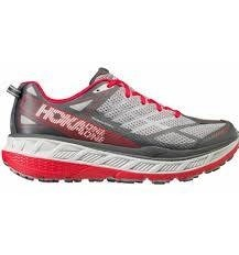 Men's Hoka One One Stinson ATR 4 grey/red