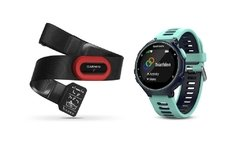 Garmin Forerunner 735XT - Midnight Blue & Frost Blue Run-Bundle