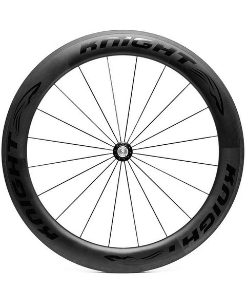 KNIGHT COMPOSITES 65 Carbon Front Clincher Wheel