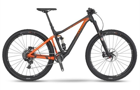 2017 BMC TRAILFOX 02 X01 BIKE