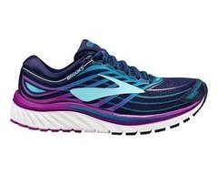 Brooks wmns GLYCERIN 15 RUNNING SHOES Navy