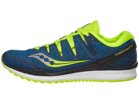 Saucony Freedom ISO 2 Men's Shoes Blue/Citron