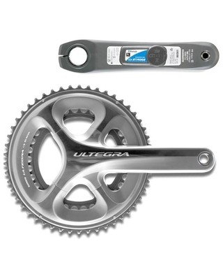 STAGES Power Meter Ultegra 6800 Crankset - Silver