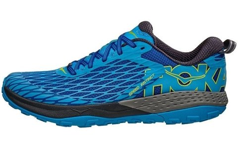 HOKA ONE ONE Speed Instinct Men's Shoes Blue/Blue